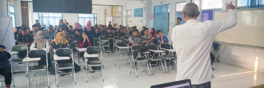 STC Goes To Campus STMIK Sinar Nusantara Surakarta