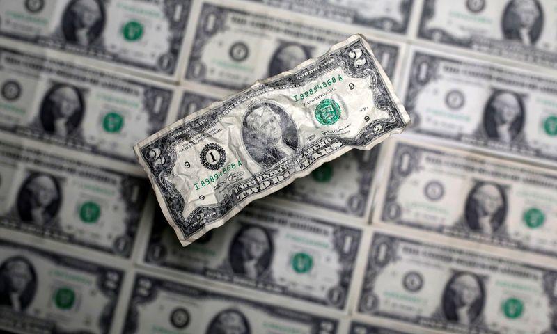 Dolar jatuh sebelum klaim pengangguran, investor menunggu stimulus